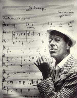 Cole Porter silk stockings