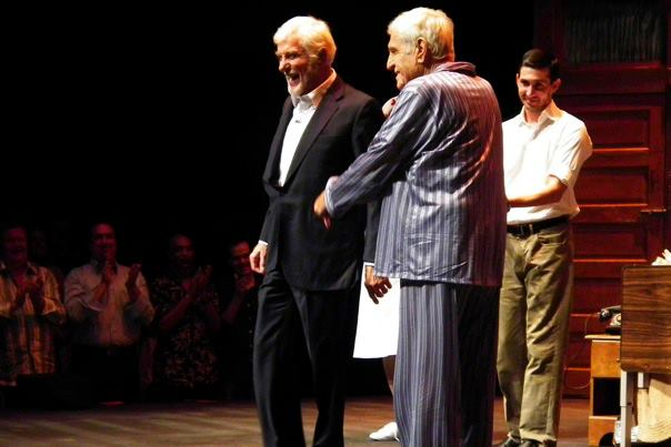 "Dick and Jerry Van Dyke take their bows -- ""The Sunshine Boys"" -- 11.10.11"
