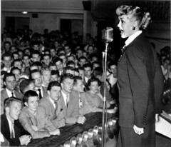 June Christy on stage