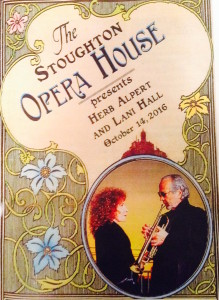 Herb Alpert & Lani Hall program cover