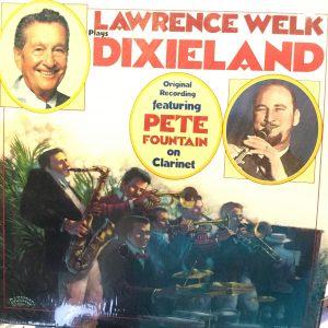 "Lawrence Welk ""Dixieland"" album cover"