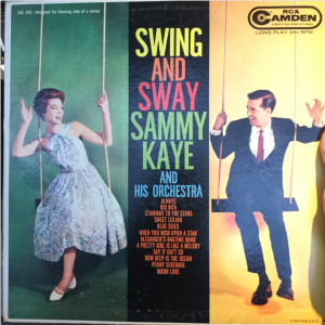 Sammy Kaye - Swing and Sway album cover