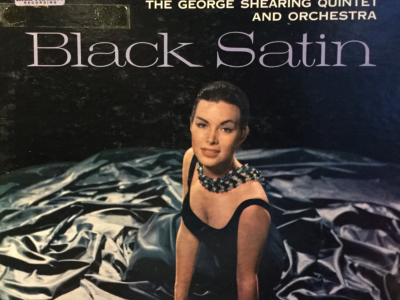 """""""Black Satin"""" album cover"""