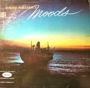 Norrie Paramor's Moods album cover
