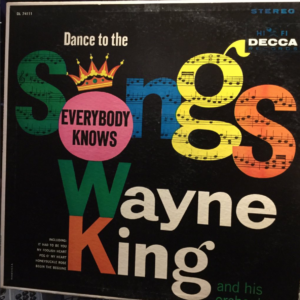Wayne King album cover