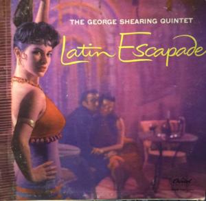 """Latin Escapade"" album cover"