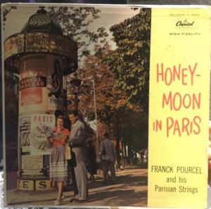 """""""Honeymoon In Paris"""" album cover"""