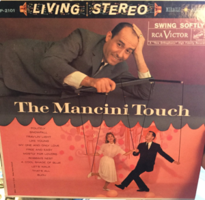 """""""The Mancini Touch"""" cover art"""