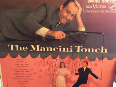 """The Mancini Touch"" cover art"