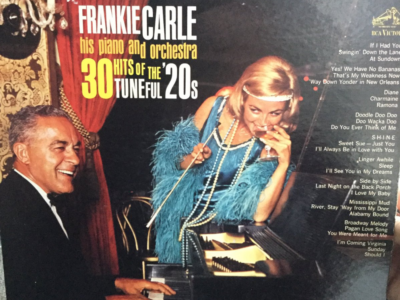 "Frankie Carle ""30 Hits Of the Tuneful 20s"" album cover"