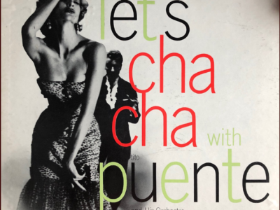 """""""Let's Cha Cha with Puente"""" album cover"""