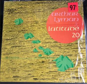 "Arthur Lyman ""Latitude 20"" album cover"