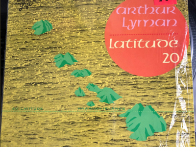"Arthur Lyman ""Latitude 20"" album cover"