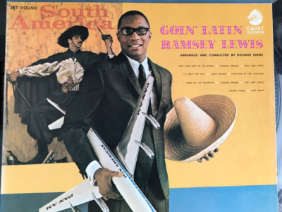 """Goin' Latin"" by Ramsey Lewis album cover"