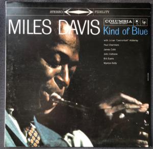 """Miles Davis """"Kind Of Blue"""" album cover"""