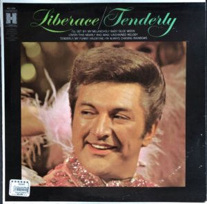 "Liberace ""Tenderly"" album cover"