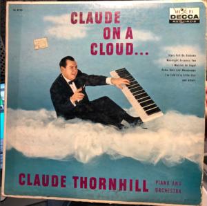 """""""Claude On A Cloud"""" album cover"""
