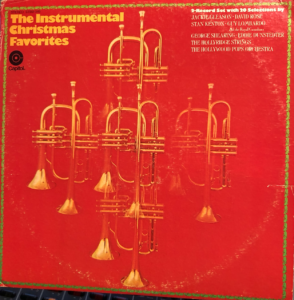 """The Instrumental Christmas Favorites"" album cover"