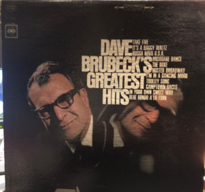 """Dave Brubeck's Greatest Hits"" album cover"
