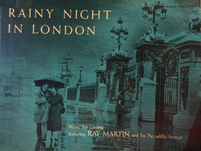 """Rainy Night In London"" album cover"