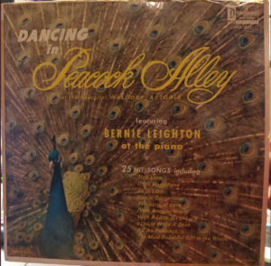 """Dancin' in Peacock Alley"" album cover"
