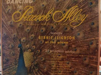 """""""Dancin' in Peacock Alley"""" album cover"""