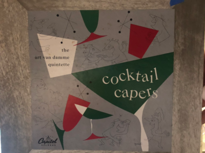 """Cocktail Capers"" album cover"