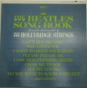 """The Beatles Songbook"" album cover"