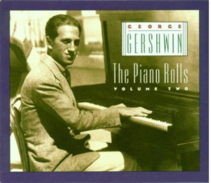 "George Gershwin ""The Piano Rolls, Vol. 2"" album cover"