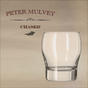 "Peter Mulvey ""Chaser"" album cover"