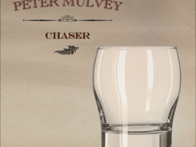 """Peter Mulvey """"Chaser"""" album cover"""