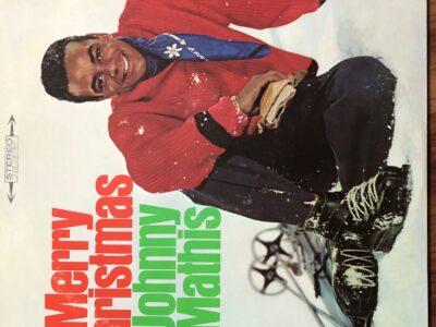Merry Christmas Johnny Mathis album cover