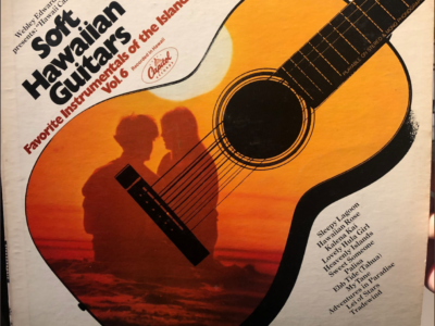 Soft Hawaiian Guitars album cover