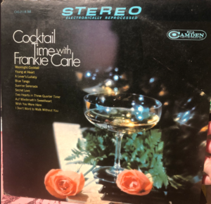 """Cocktail Time with Frankie Carle"" album cover"