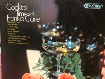 """""""Cocktail Time with Frankie Carle"""" album cover"""