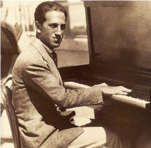 "George Gershwin ""The Piano Rolls, Volume 2"" album cover"