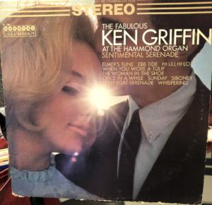 """Sentimental Serenade"" - Ken Griffin album cover"