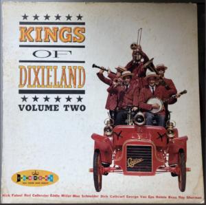"""Kings of Dixieland, Volume 2"" album cover"